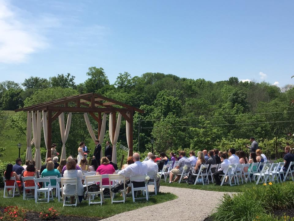 Hill top Vineyard Wedding