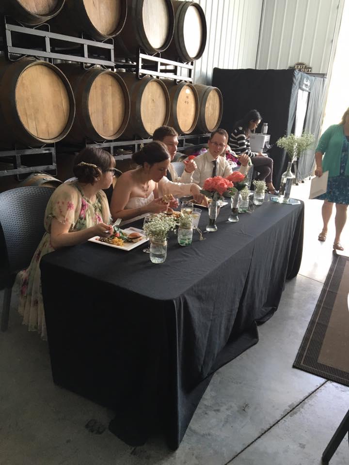 Brianza Reception Hall Wedding Party