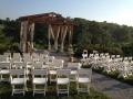 Hill Top Gazebo Ceremony Site at Brianza