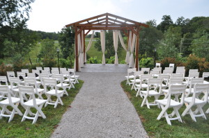 Brianza Winery Wedding Gazebo
