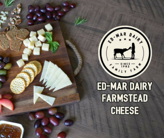 Ed Mar Dairy Wine & Cheese Pairing